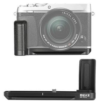 Meike MK-XE3G uchwyt do aparatu metalowa ręka uchwyt uchwyt wspornika do Fujifilm X-E3 uchwyt do kontrolera aparatu uchwyt wspornika ręcznego Holde tanie i dobre opinie