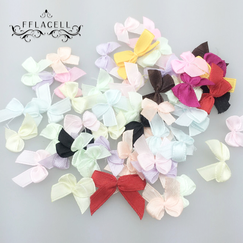 top 10 most popular mini satin ribbon flowers bead bow ideas