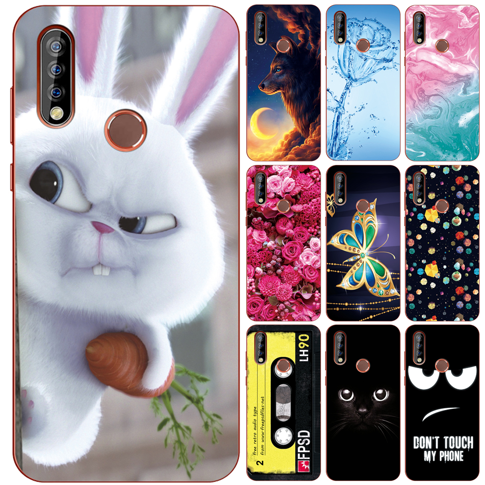 GUCOON Silicone Cover For Oukitel C12 C15 C16 C17 Pro Case Soft TPU Protective Phone Back Case Bumper Shell