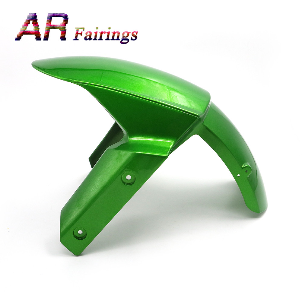 13 15 For Kawasaki Z800 Motorcycle Front Tire Fender Fairing Wheel Cover Green High Quality Plastic Cowling Z 800 2013 2014 2015