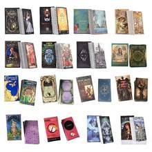 Tarot kartları Oracle rehberlik kehanet kader Tarot yük platformu oyunları İngilizce aile hediye için parti oyun kartı oyun eğlence