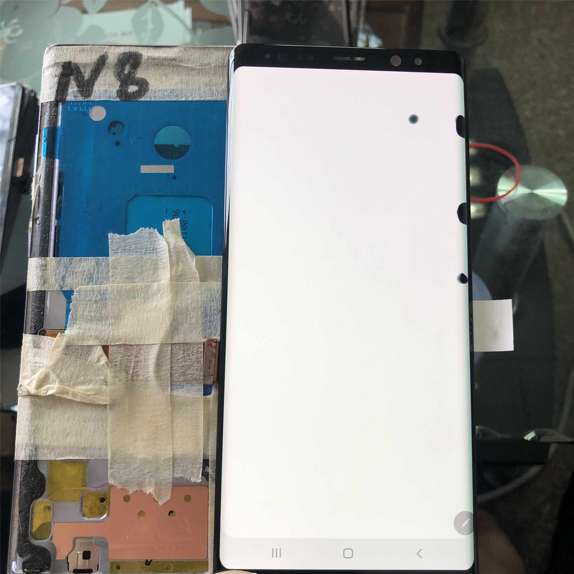 Dành Cho Samsung Galaxy Note 8 N950 SM-N950F 6.3 Inch Với Điểm Ban Đầu Amoled Màn Hình Hiển Thị LCD + Tặng Bộ Số Hóa Cảm Ứng các Bộ Phận