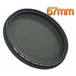 Nicna Fader ND Filter Adjustable from ND2 to ND400 ND2-ND400 MC Pro Multi-Coated Filter Lens 67mm