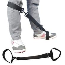 Golf Training Aid Leg Strap Posture Correction Belt Orthosis for Beginners Sport Swing