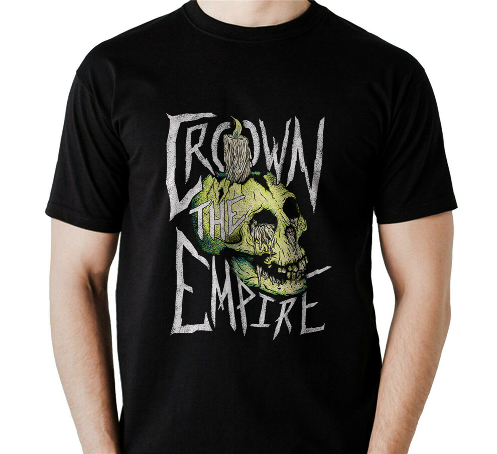 Crown The Empire Metalcore Band T-Shirt For Men S,M,L,Xl,2Xl,3Xl,3Xl Usa Size Plus Size Tee Shirt image