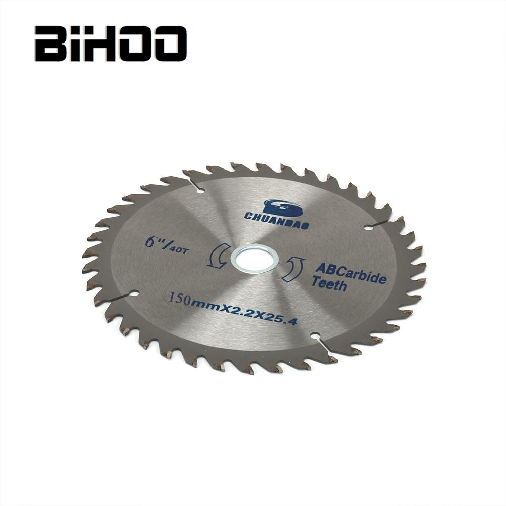 150-300mm Carbide Circular Saw Blade Bore 25.4/30mm Cutting Disc For Wood Cutting 40/60T Thickness 2.2/3mm