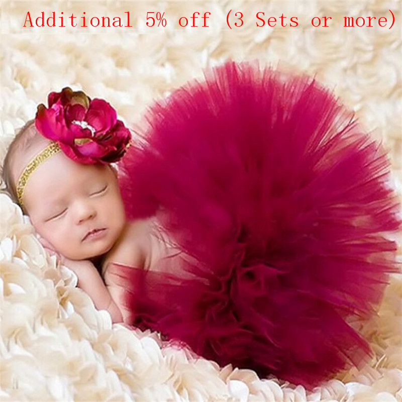Newborn Photography Props Infant Costume Outfit Princess Baby Tutu Skirt Baby Photography Props Newborn Photography Outfit