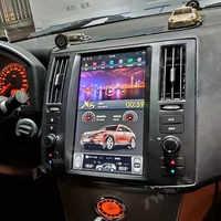 Pantalla Vertical de Radio para coche Android 9 estilo Tesla para Infiniti FX FX25 FX35 FX37 2003 + GPS navegación grabadora Multimedia ESTÉREO