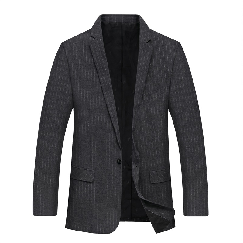 2020 Plus Size 8xl  7xl  6xl  New Casual Suit For Men High Quality Spring And Autumn Suit Jacket Men Jackets And Stripe Blazers