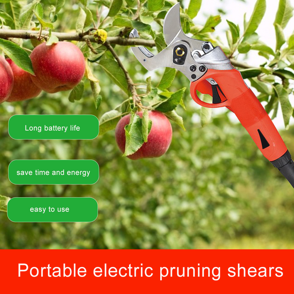 36V Electric European Carbon Battery Garden Tools Pruner SK5 Steel Lithium Rechargeable Cordless Shears Trimmer Blade Standard