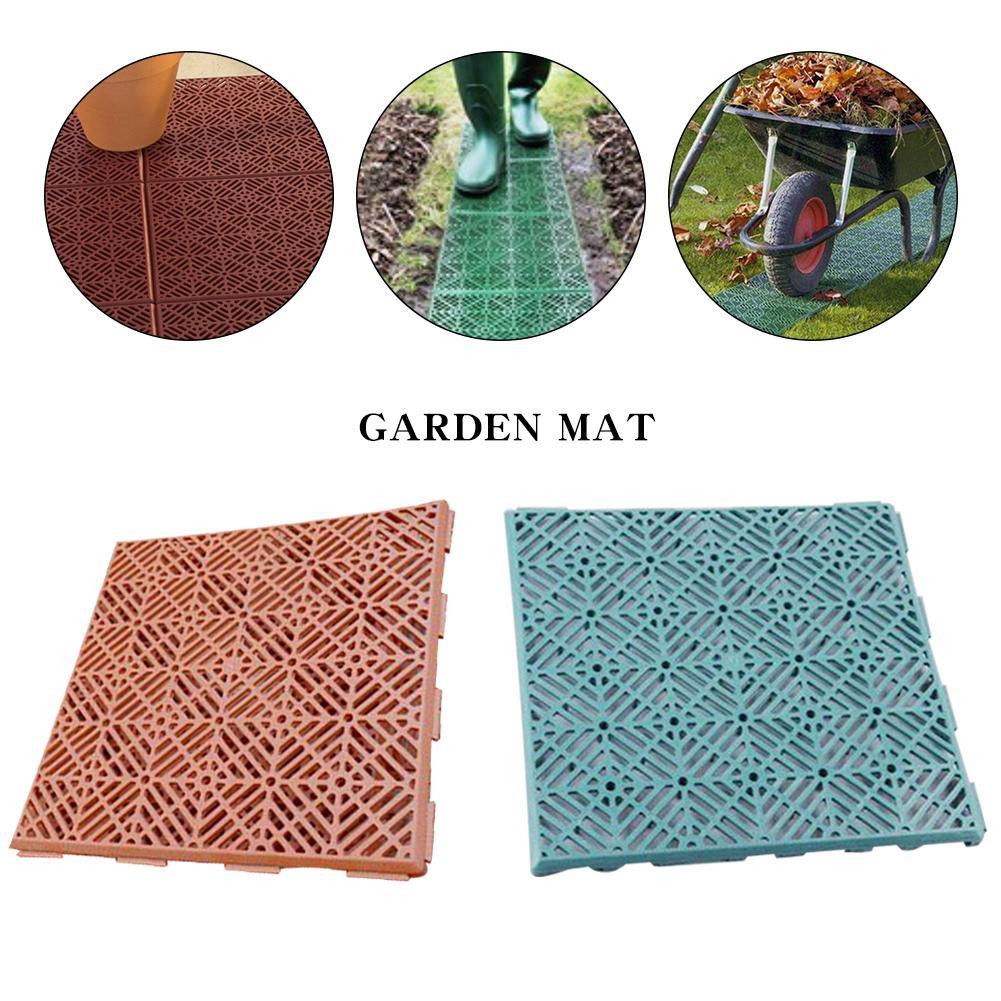 Manually Paving Plastic Brick DIY Plastic Path Maker Garden Plastic Road For Garden Home Non-Slip Mats Garden Plastic Flooring