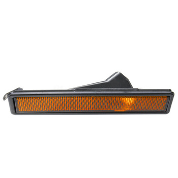 For BMW E30 E32 E34 3 Series L Or R Replaced Amber Rear Bumper Side Marker Light image