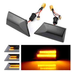 Image 5 - 2 pieces Led Dynamic Side Marker Turn Signal Light Sequential Blinker For Opel Vectra C 2002 2008 For Opel Signum 2003 2008