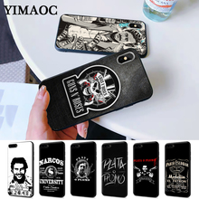 Narcos Pablo Escobar Silver Or Lead Silicone Case for iPhone 5 5S 6 6S Plus 7 8 11 Pro X XS Max XR