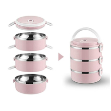 Food-Storage-Container Lunch-Box Insulation Stainless-Steel Japanese Kids School Portable