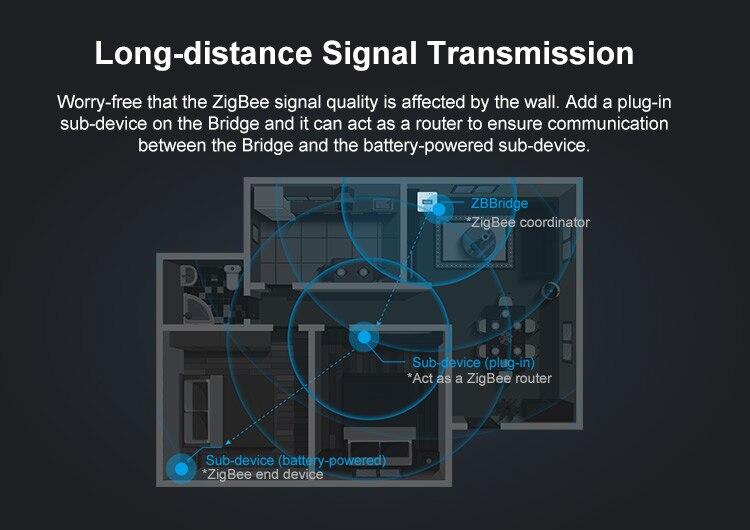H8caf98c3ca374fcb8512d94649ea4c004 - SONOFF ZigBee Bridge Wireless Door/Window Sensor Alert Notification Via EWeLink APP Control Smart Home Security Switch