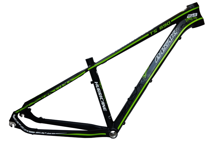 Mountain Bike Frame PASAK TS890 Aluminum Alloy Pasak 29 Inch Mountain Bicycle Frame HURRICANE Hurricane Ultra Light