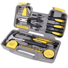 A 10-piece Set Of Sleeve Toolbox Auto Repair Tools Vehicle Hardware