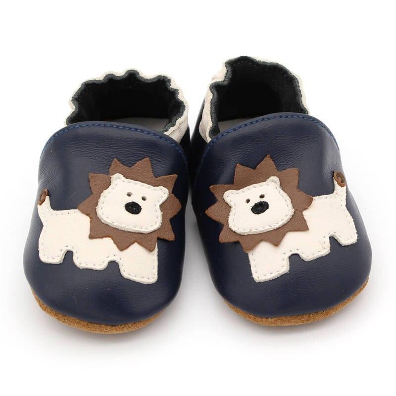 Newborn Toddler Prewalker Soft Sole Leather Baby Crib Shoe Boy Girl Booties 0-5Y