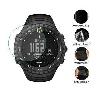 Image 1 - 3pcs TPU רך ברור מגן סרט משמר עבור Suunto Core שעון GPS ספורט כל שחור Smartwatch מסך מגן כיסוי (לא זכוכית