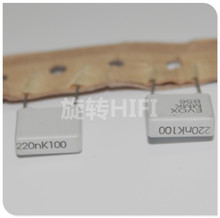 20 шт. Новый EVOX MMK10 0,22 мкФ 100V p10mm пленочный конденсатор MMK 224/100V аудио 224 горячая Распродажа 0,22 мкФ/100 V 220NF