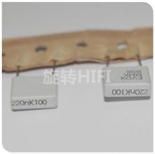 20PCS 새로운 EVOX MMK10 0.22 미크로포맷 100V p10mm 필름 커패시터 MMK 224/100V 오디오 224 0.22 미크로포맷/100 V 220NF