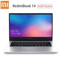 Xiaomi RedmiBook 14 Laptop AMD Ryzen 7 3700U Radeon Vega10 Graphics 16GB RAM 512GB SSD Windows 10 Home Ultra Thin Notebook