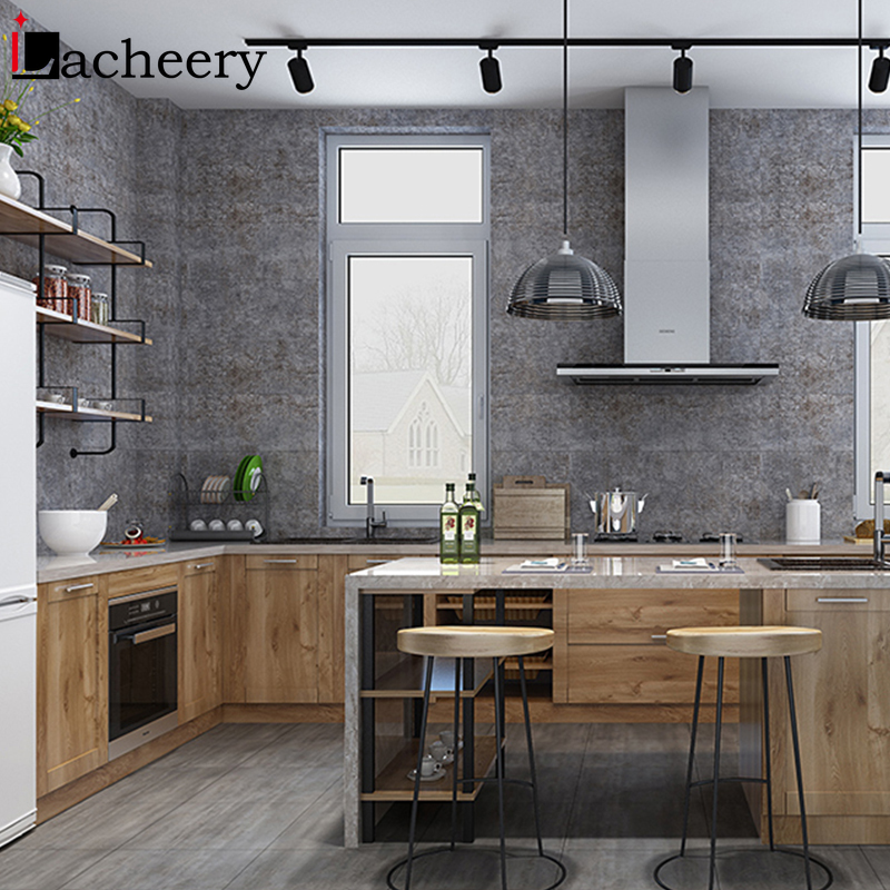 Self Adhesive PVC Ceramic Tile Sticker Waterproof Wallpaper Art Diagonal Floor Stickers Kitchen Decorative Decal DIY House Decor