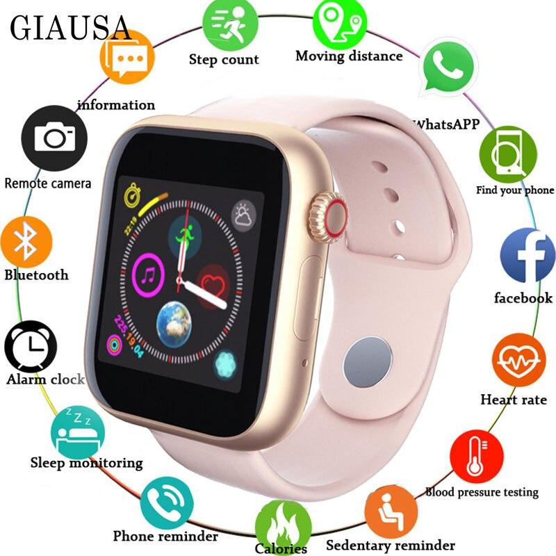 2019 mais novo 1.54 Polegada relógio inteligente apoio sim tf cartão câmera whatsapp para android apple telefone smartwatch masculino feminino crianças