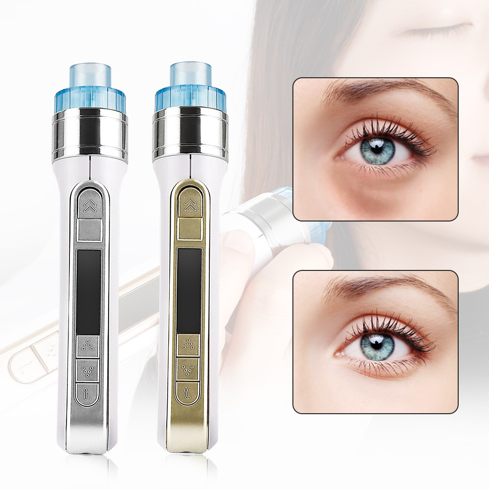 3D Smart Water Injection Pen Mesotherapy Meso Injector Gun Skin Rejuvenation Deep Hydrating Wrinkle Pouch Removal Beauty Device