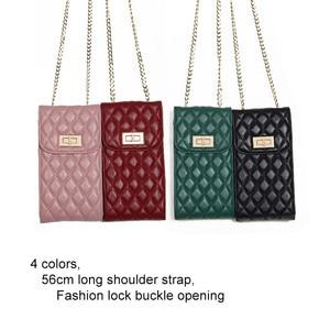 Image 3 - Echtes Leder Mode Designer Telefon Geldbörse Mini Schulter Tasche Qualität Schaffell Kleine Klappe Taschen Frauen Umhängetasche Messenger Taschen