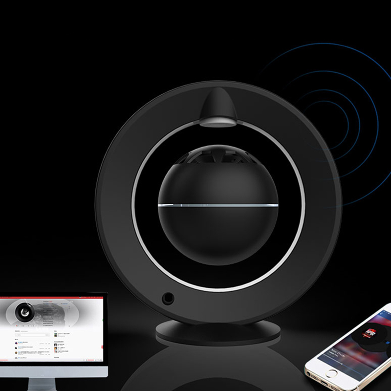 Magnetic Levitation Night Light Bluetooth Speaker Open Interview Design 360 Degree Stereo Surround Floating Speaker Experience S - 5