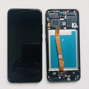 Image 4 - Plein Original nouveau pour Huawei Honor 10 COL L29 écran LCD + écran tactile numériseur assemblée remplacement + empreinte digitale + cadre 5.84