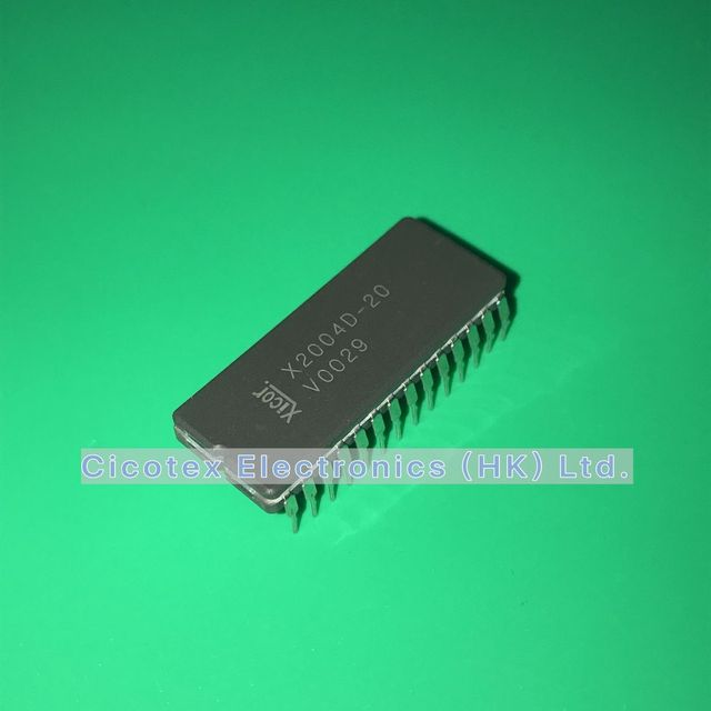 X2004D 20 CDIP28 512X8 NON VOLATILE SRAM 300ns HERMETIC SEALED CERDIP 28 X2004D20 X2004 D 20