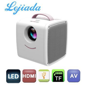 Lejiada q2 lcd mini projetor portátil suporte 1080p completo hd hdmi usb vga para crianças estudo presente de natal