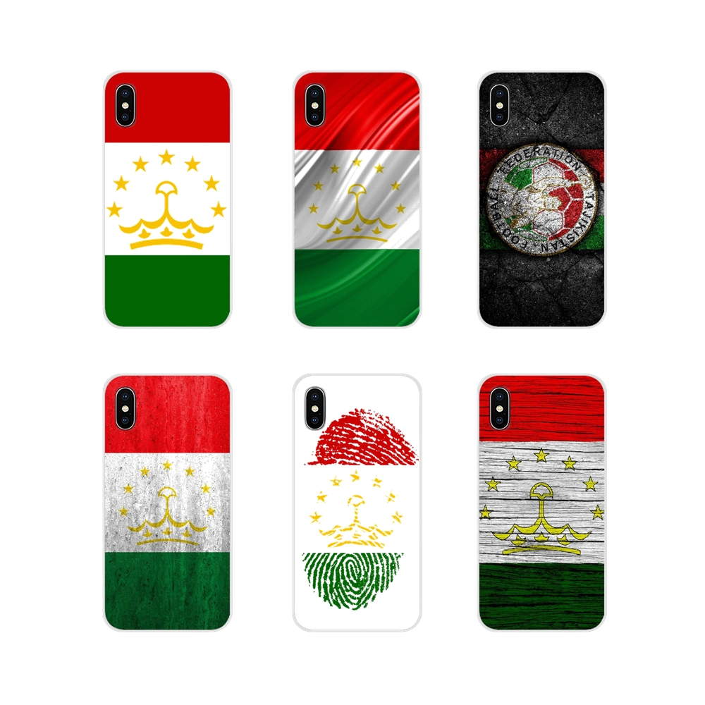 For Huawei Mate Honor 4C 5C 5X 6X 7 7A 7C 8 9 10 8C 8X 20 Lite Pro Accessories Phone Cases Covers Tajikistan National flag