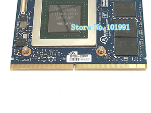 Image 5 - New Original GTX 980M Graphics Card GTX980M SLI X Bracket N16E GX A1 8GB GDDR5 MXM For Dell Alienware MSI HP Clevo notebook GPU