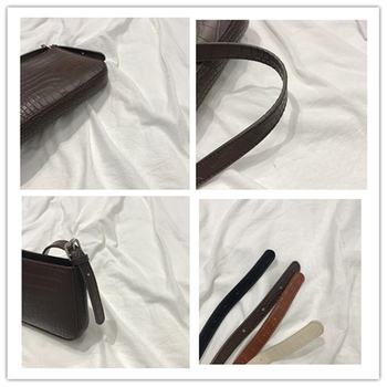 Messenger Handbags Retro Alligator Pattern Women shoulder bags   5