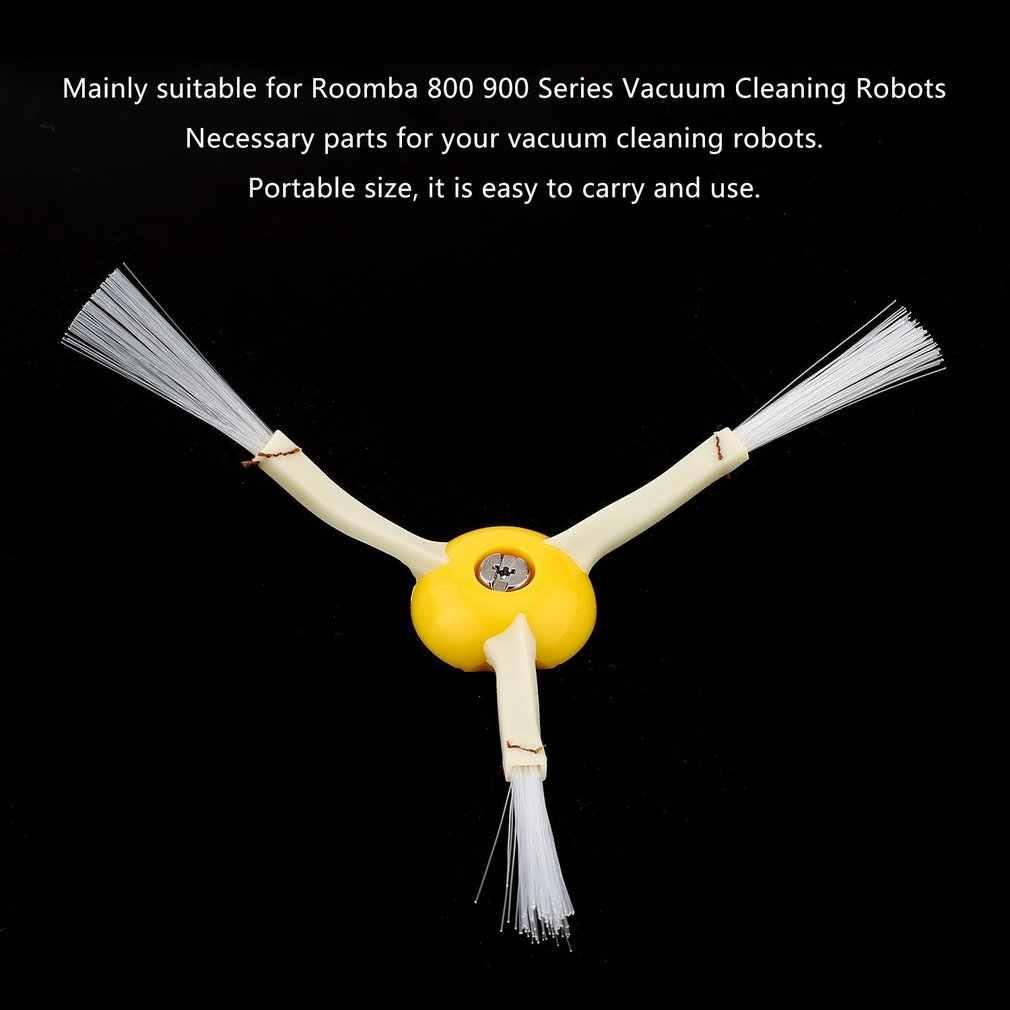 Profesional de tamaño pequeño 3 armados reemplazo cepillo lateral adecuado para Robot 800 serie 900 aspiradoras partes