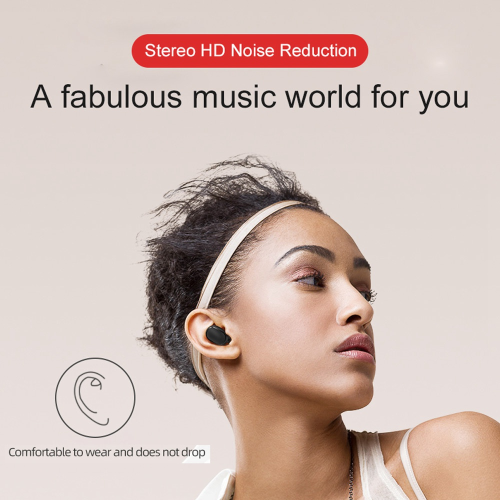Wireless Earphone PK Redmi Airdots Earbuds Bluetooth 5.0 TWS Headsets Noise Cancelling Mic Bluetooth Headphones PK i10 i12 TWS
