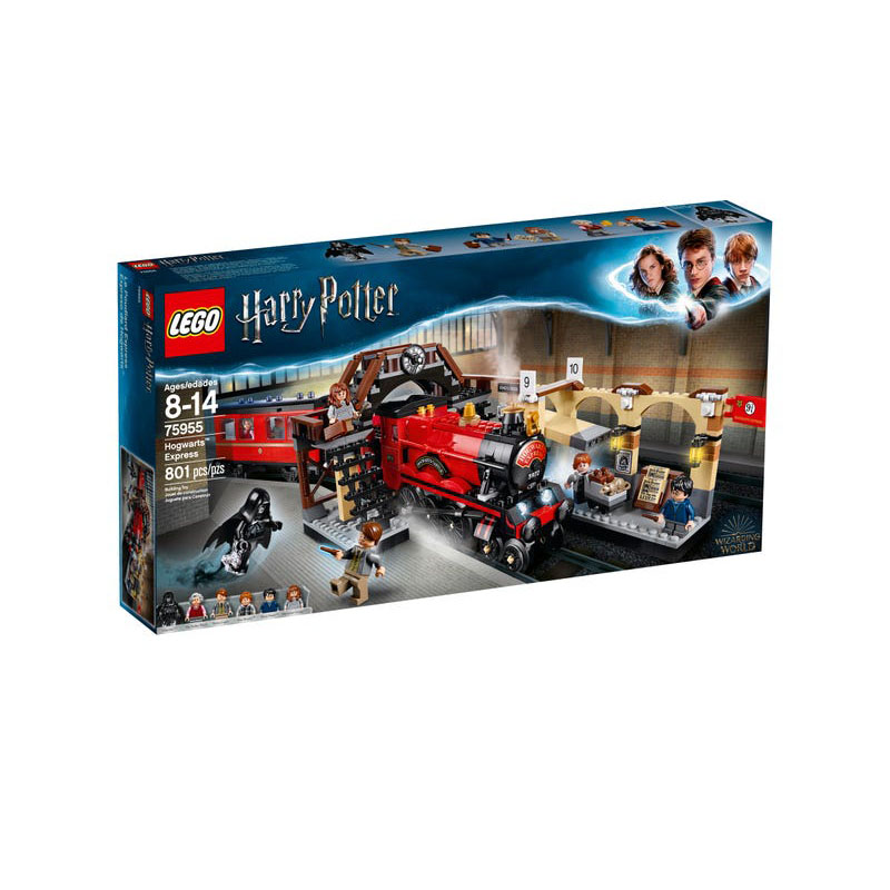 LEGO <font><b>75955</b></font> <font><b>Harry</b></font> <font><b>Potter</b></font> Series Hogwarts Express Building Block Also Includes 5 Minifigures Plus Dementor Christmas Gift Toys image