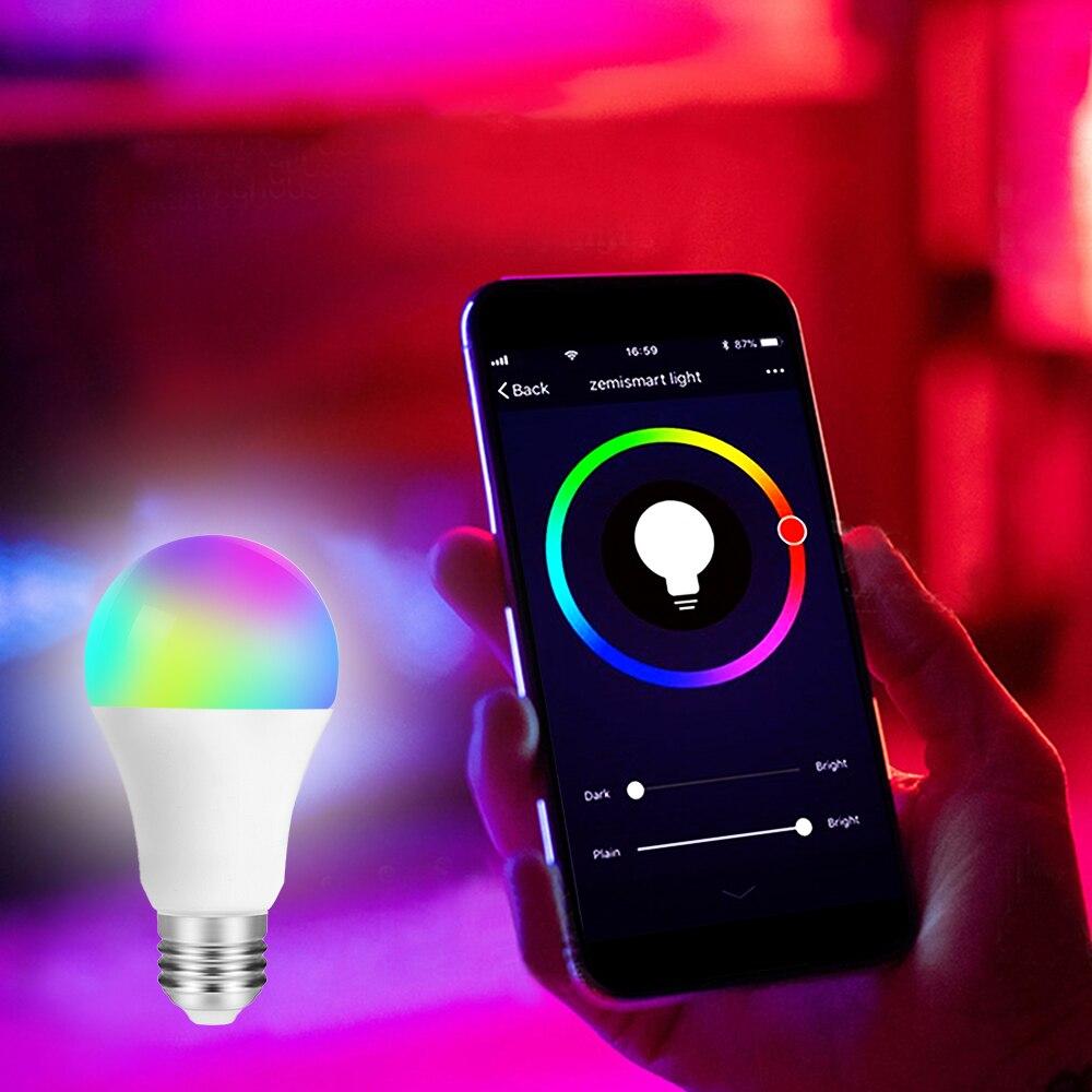 6 шт. 9 Вт свет Управление движения Сенсор свет E27 + движения PIR Сенсор светодиодный лампы Авто Смарт светодиодный PIR инфракрасный тела звук ла... - 3