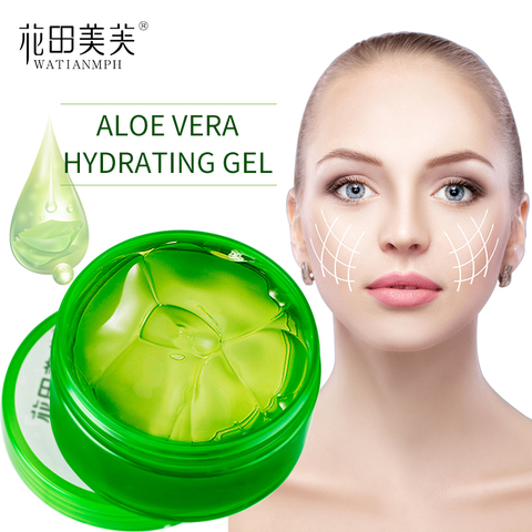 watianmph natural aloe suave gel mascara facial reparacao hidratante solar sensivel cuidados com a pele
