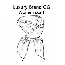 2021高級ブランドデザインgg女性のパシュミナ暖かいショールとシルクラップ女性プリント厚い毛布ネックスカーフWJ10003