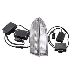 Image 1 - 12V DRL Volkswagen VW Scirocco için R 2010 2011 2012 2013 2014 LEDDaytime koşu işık günışığı sis lambası