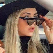 vintage Cat eye women's sunglasses luxury brand designer lux
