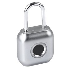 Door-Lock Safe-Padlock Fingerprint Waterproof Anti-Theft-Lock Usb-Charging Smart P6 Keyless