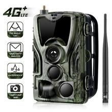 HC801LTE 4G Trail Camera MMS SMS Email Hunting Camera 16MP 1080P 940nm IR LED Night Vision Wild Camera 0.3s Trigger Photo Traps