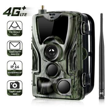 HC801LTE 4G Trail Camera MMS SMS Email Hunting Camera 16MP 1080P 940nm IR LED Night Vision Wild Camera 0.3s Trigger Photo Traps цена 2017