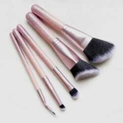 NEW Collection Advanced Brusk Kit - LUXE Pink Holiday 2020 - Dazzle on-go Travel Makeup Brush Set